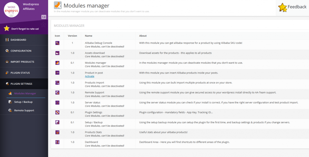 modules-manager