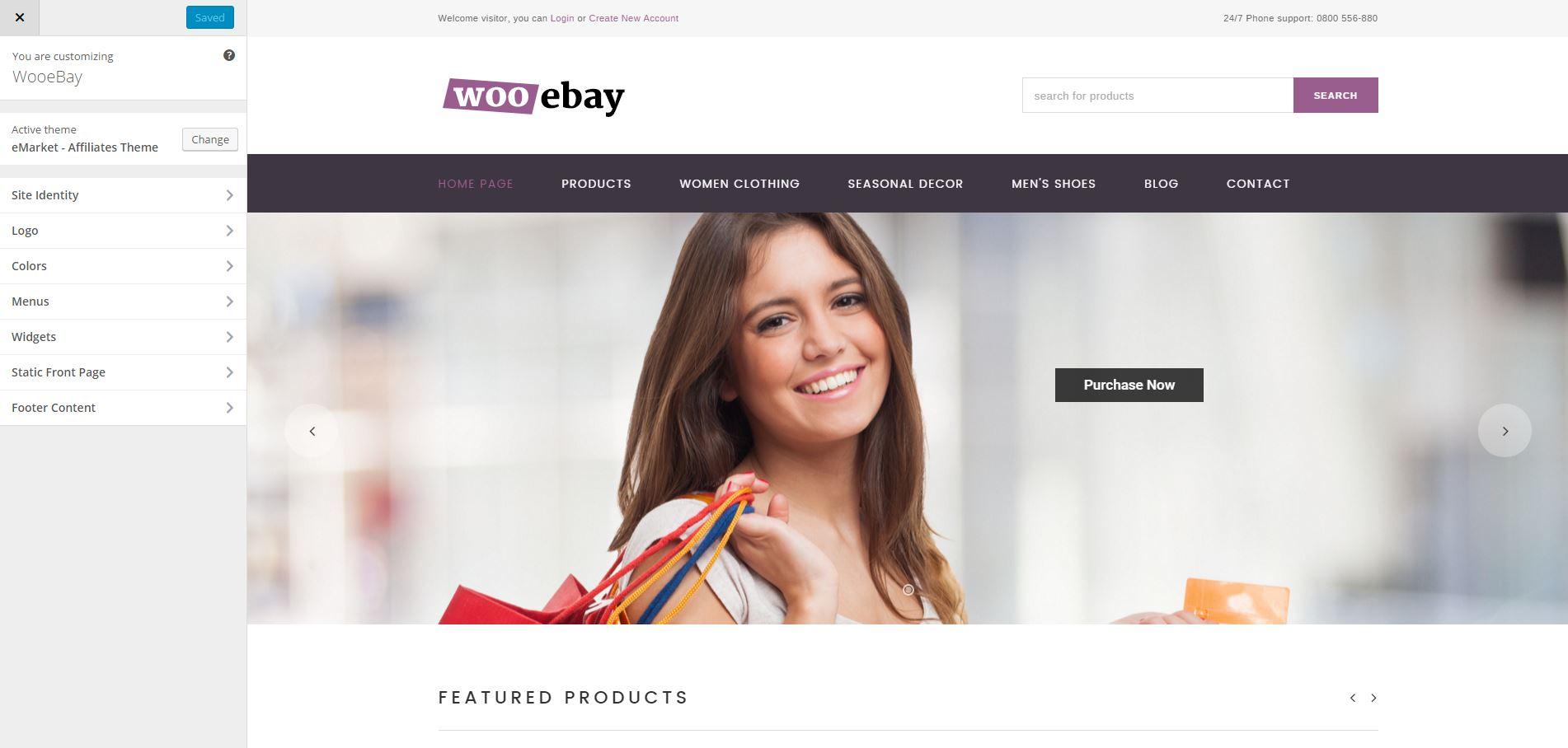 wooebay-customize