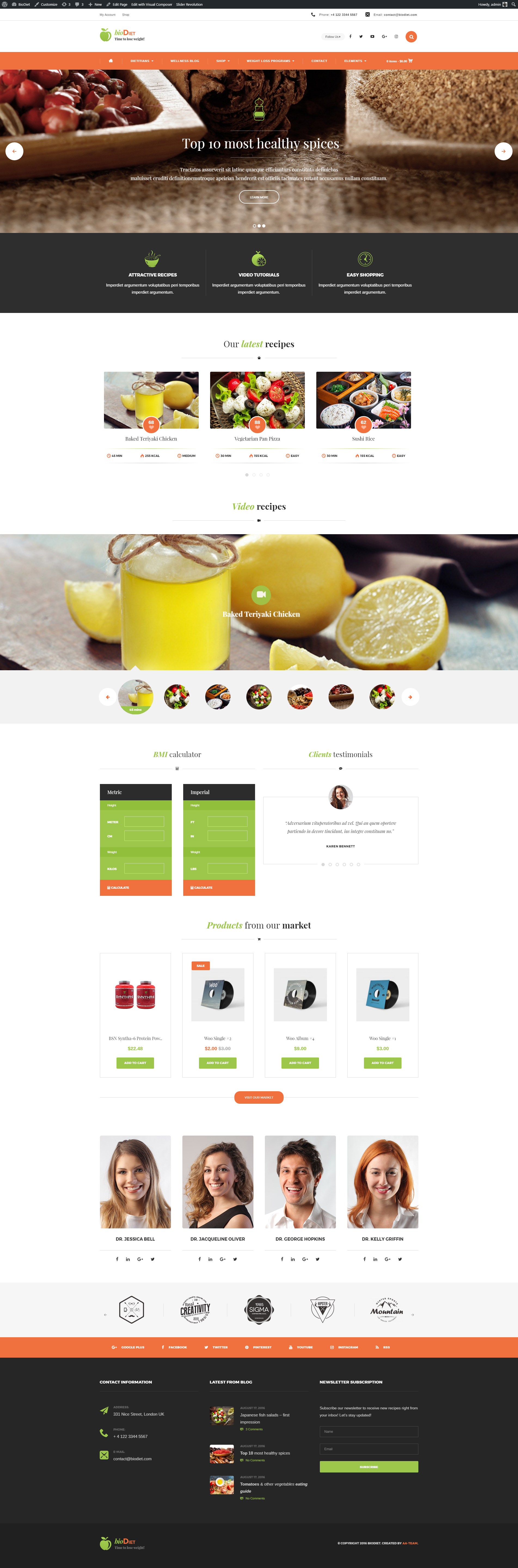 BioDiet – Just another WordPress site