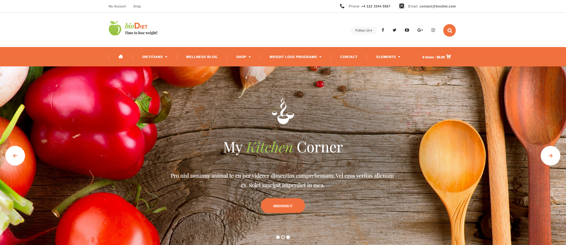 Slider – Just another WordPress site